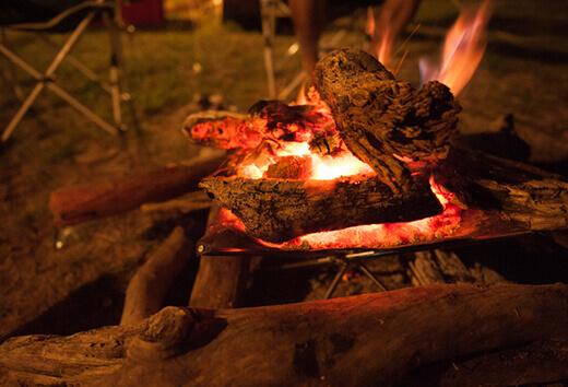 たき火の演奏会